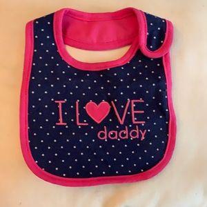 ✨I love daddy bib